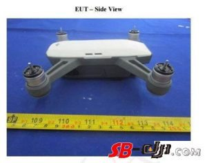 dji spark drone 300 grammi